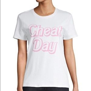 Prince Peter White and Pink Cheat Day Tee Shirt